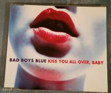 Bad Boys Blue cd-maxi KISS YOU ALL OVER, BABY © 1993  74321 16578 2 4-Track MCD