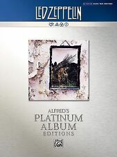 Led Zeppelin -- Untitled (IV) Platinum Bass Guitar: Authentic Bass TAB (Alfred's
