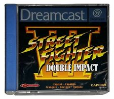 STREET FIGHTER III: DOUBLE IMPACT (PAL Dreamcast Game) Streetfighter Sega DC B