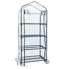 "New 4 tier Mini 63"" Portable GreenHouse w/Shelves Mini Green Plants House"