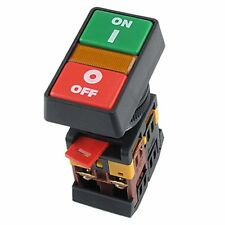 ON OFF START STOP Push Button Light Indicator Momentary Switch Power HP