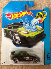 HOT WHEELS 2014 MAZDA RX-7 24/seven Color Shifters RARE SAVANNA JDM DRIFT ROTARY
