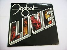 FOGHAT - LIVE - LP VINYL 1977 U.S.A. PRESS