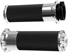 Harley FXSTB Softail Night Train 99-09Bevelled Fusion Grips Chrome by Arlen Ness
