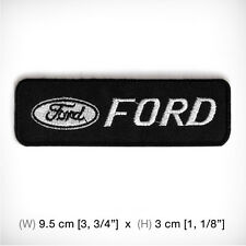 New FORD Embroidered Patch Iron on , sew, Decorate RACING Sports MOTOR Car SPEED