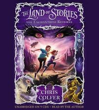 The Land of Stories : The Enchantress Returns by Chris Colfer (2014, CD,...