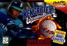 Ken Griffey Jr.'s Winning Run SNES Great Condition Fast Shipping