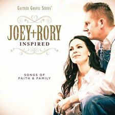 Joey+Rory Inspired Joey + Rory  Audio CD Label: Gaither Music Group Discs: 1 NEW