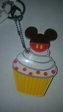 NEW Disney Parks key chain Mickey mouse Authentic cupcake hidden mirror