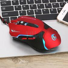 3200 DPI 6D LED Optical USB Pro Gaming Wired Mouse For Laptop PC Gamer Desktop