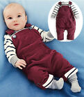 Carters 12 24 Months Overalls & Tops Outfit Set Baby Boy Toddler Clothing 2 Pcs