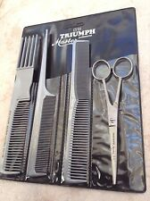 Hercules Triumph Sagemann Solingen German stainless hair scissor shears combs