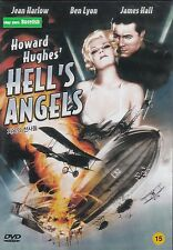 Howard Haughes Hell's Angels Jean Harlow,Ben Lyon James Hall NEW DVD
