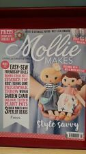 Mollie Makes Magazine + Free Gift Issue 66  Knitting  Patchwork Crochet Sewing