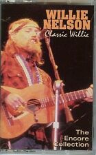 WILLIE NELSOM - CLASSIC WILLIE - THE ENCORE COLLECTION - CASSETTE TAPE - NEW