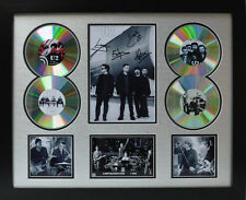 U2 Signed Limited Edition Framed Memorabilia (r)