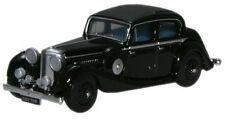 Oxford 76JSS002 Jaguar SS 2.5 Saloon Black 1/76th Scale New – T48 Post W