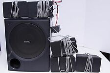 Sony 6OHM 5.1 Powered Speaker System for Home Theater
