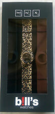BILL'S WATCH CLASSIC PKCL02 LOCK SLAP BRACELET BNIB WARRANTY B!LL'S WATCHES