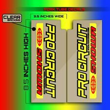 1991 1992 CR 125 PRO CIRCUIT FORK TUBE MOTOCROSS DECALS GRAPHICS