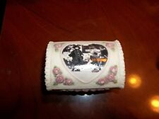 """Pretty as a Picture """"Forever My Love"""" Limited Edition Trinket Box 1998 LOVELY!!"""