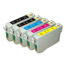 5 PK NON-OEM T069 69 INK EPSON CX7000 NX200 NX300 NX415 WORKFORCE 310 500 600