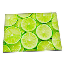 Fresh Lime slices Glass Chopping Board 049