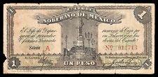 Estado Libre y Soberano de Mexico 1 Peso 3.01.1915, M2811a / SI-MEX-11 Fine.