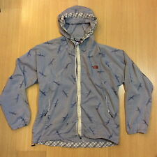 NORTH FACE PURPLE LABEL F.M HAMMERLE EMBROIDERED BIRDS COTTON FABRIC JKT SUPREME