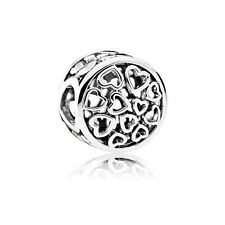 New Authentic Pandora Charm 791980 Loving Sentiments Bead Box Included