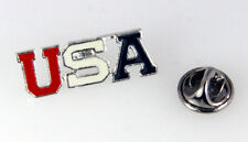 6030269 USA Made in USA Lapel Pin America Support United States Tie Tack Brooch
