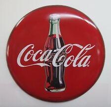 Coca-Cola 2 Foot Wide Button Sign - BRAND NEW