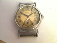 Movado Art Deco Stainless Steel Men's Vintage Watch -Spares or Repair cal 150MN