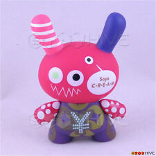Kidrobot Dunny 2008 Series 5 vinyl figure by JMGS Jellymon loose - missing coin