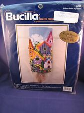 Bucilla Needlepoint Birdhouse Kitchen Bag Dispenser Alex Torrra