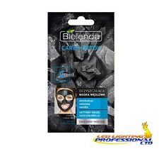 BIELENDA CARBO DETOX CHARCOAL CLEANSING CARBON FACE MASK DRY SENSITIVE SKIN 8g