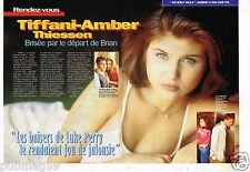 Coupure de presse  Clipping 1997 (4 pages) Tiffany Amber Thiessen