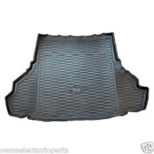 OEM NEW 05-09 Mustang Coupe Rubber Cargo Area Trunk Floor Mat w/o Subwoofer