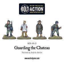 Warlord Games, protegiendo el Castillo Perno acción wargaming Miniatures