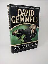 Stormrider by David Gemmell - First Edition 1st/1st