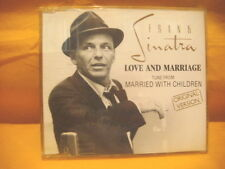MAXI Single CD FRANK SINATRA Love And Marriage 3TR 1991 MARRIED WITH CHILDREN