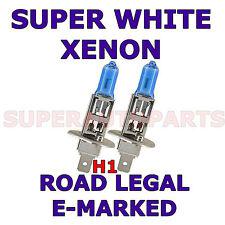FITS ROVER 75 1999-2002 SET H1  XENON SUPER WHITE LIGHT BULBS