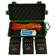 12 Cue Wireless Fireworks Firing control system equipment+Remote+12pcs Igniters