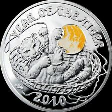 2009 Niue Large  Proof Silver $1 Year of the Tiger