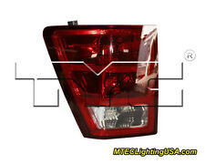 TYC Left Side Tail Light Lamp Assembly for Jeep Grand Cherokee 2005-2006