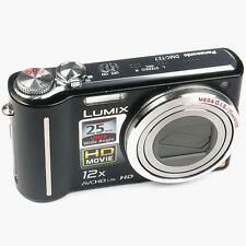 Panasonic LUMIX DMC-TZ7 10.10 MP Digitalkamera -Schwarz- Defekt (N013778)