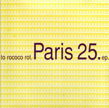 TO ROCOCO ROT - Paris 25 EP (RARE Import CD, Feb-1998, Emperor Jones)