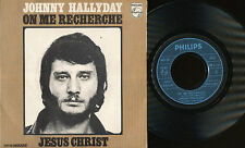 JOHNNY HALLYDAY 45 TOURS FRANCE JESUS CHRIST