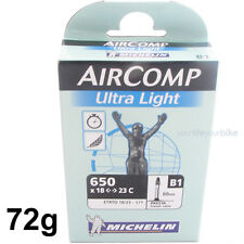 "MICHELIN AIRCOMP ULTRA LIGHT B1 26"" RENNRAD SCHLAUCH 72g TRIATHLON 18/23-571 SV"
