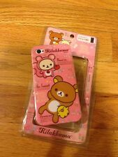 SAN-X IPHONE 4 4S 4G 4GS RILAKKUMA BEAR PINK CASE